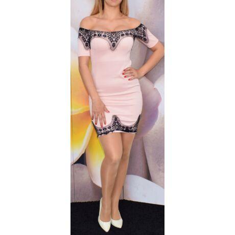 Fekete csipkés ruha - Ruha - Luna Gardrobe Női ruha WebÁruház ... 5cd2133505