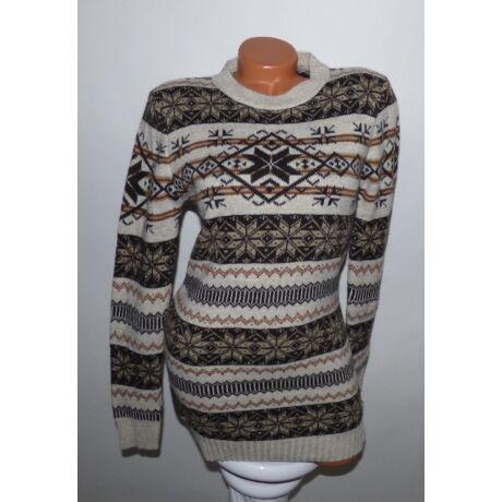 Hosszított norvég mintás pulóver - Póló   Pulóver - Luna Gardrobe ... 9fe7ce504a