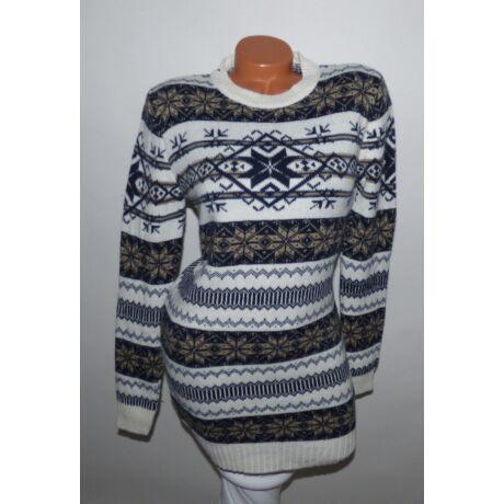 95d9e8b037 Hosszított norvég mintás pulóver - Póló / Pulóver - Luna Gardrobe ...