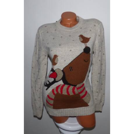 bd5ed68eac Vastag, karácsonyi pulóver - Póló / Pulóver - Luna Gardrobe Női ruha ...