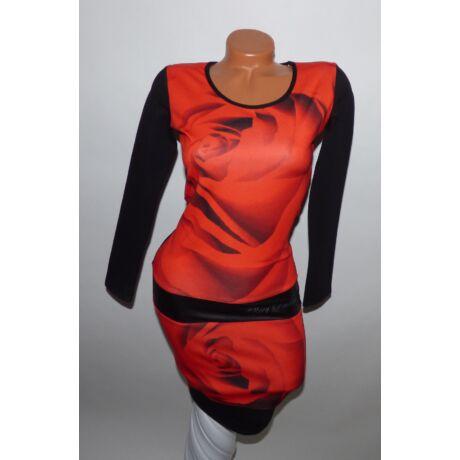 Rucy Fashion rózsás ruha - Ruha - Luna Gardrobe Női ruha WebÁruház ... 85a86dd09c