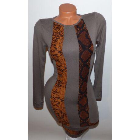 Kígyó mintás pamut ruha - Ruha - Luna Gardrobe Női ruha WebÁruház ... c17c18e192