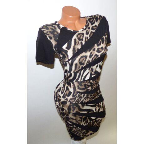 7a7523f66e Leopárd mintás ruha - Ruha - Luna Gardrobe Női ruha WebÁruház ...