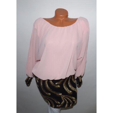 Dupla anyagú ruha - Ruha - Luna Gardrobe Női ruha WebÁruház b4fe4ea3f5