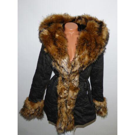Terepmintás szőrmés kabát - Dzseki   Kabát - Luna Gardrobe Női ruha ... ba5217fba6