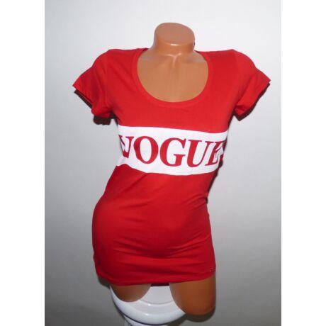 VOGUE feliratos póló - Póló   Pulóver - Luna Gardrobe Női ruha ... 3898a08691