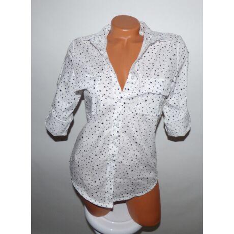 Csillagos ing - Póló   Pulóver - Luna Gardrobe Női ruha WebÁruház ... dd181b054a