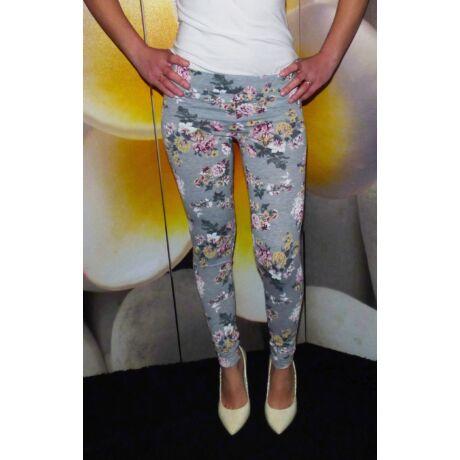 3f95797dd8 Virágmintás leggings - Nadrág / Szoknya - Luna Gardrobe Női ruha ...