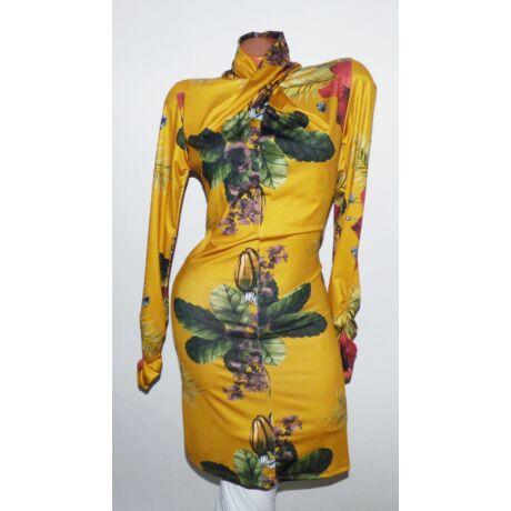 Csavart garbós mintás ruha - Ruha - Luna Gardrobe Női ruha WebÁruház ... a80ff80584