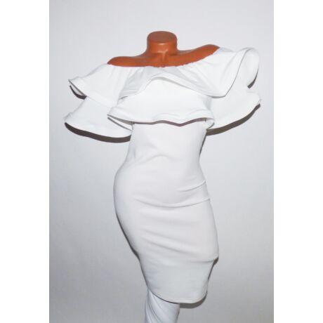 Fodros ruha - Ruha - Luna Gardrobe Női ruha WebÁruház b60164f4e2