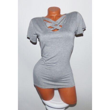 Keresztpántos póló - Póló   Pulóver - Luna Gardrobe Női ruha ... c51609caaa