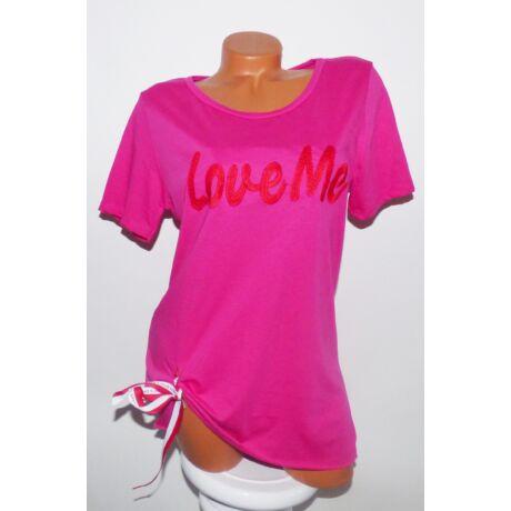 943c8cbcb9 LoveMe feliratos póló - Póló / Pulóver - Luna Gardrobe Női ruha ...