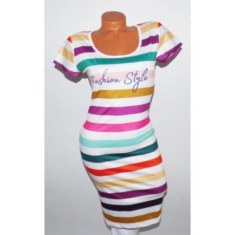 Csíkos ruha - Ruha - Luna Gardrobe Női ruha WebÁruház 4861700dab