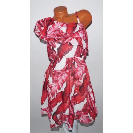 Virágmintás fodros ruha - Ruha - Luna Gardrobe Női ruha WebÁruház ... d30444f6ee