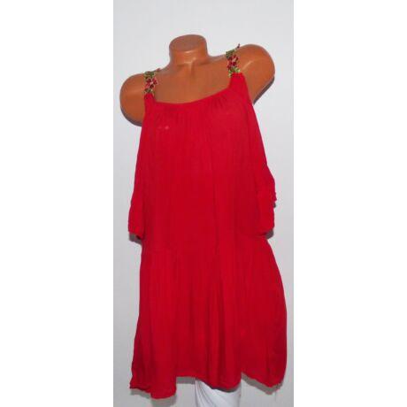 Hímzett virágpántos nyári ruha - Ruha - Luna Gardrobe Női ruha ... 07da2629aa