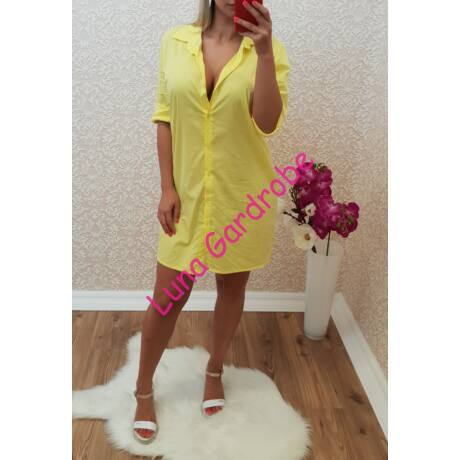Gombos ing-ruha - Ruha - Luna Gardrobe Női ruha WebÁruház b6e7ffc8e2