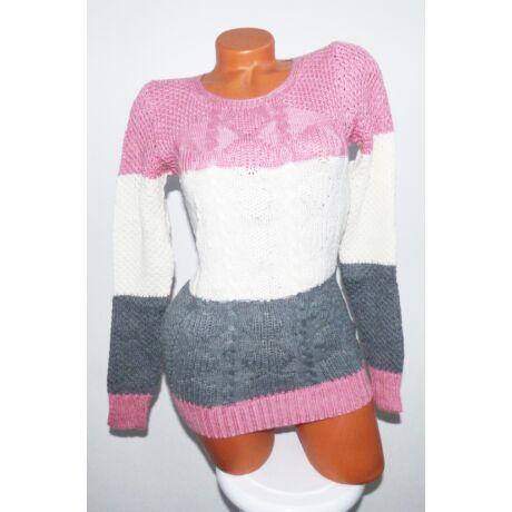 3 színű kötött pulóver - Póló   Pulóver - Luna Gardrobe Női ruha ... f2c949e825