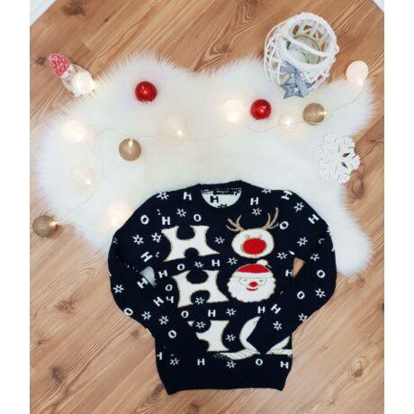 Ho-Ho-Ho-Hó Karácsonyi pulóver - Póló   Pulóver - Luna Gardrobe Női ... 0eaa979479