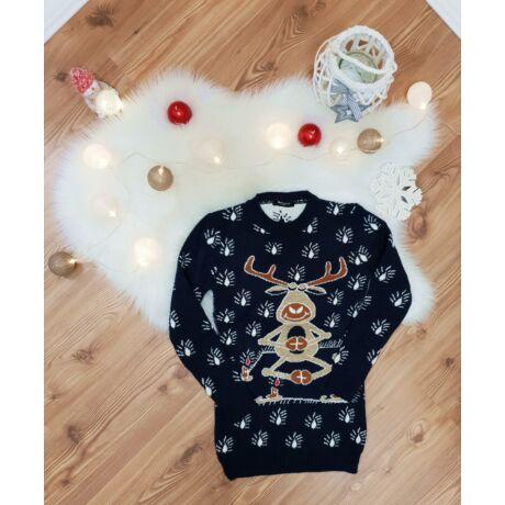 210ef504d2 Hosszított karácsonyi pulóver - Póló / Pulóver - Luna Gardrobe Női ...
