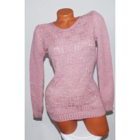 Kerek-nyakú kötött pulóver - Póló   Pulóver - Luna Gardrobe Női ruha ... ed5dc96e5f