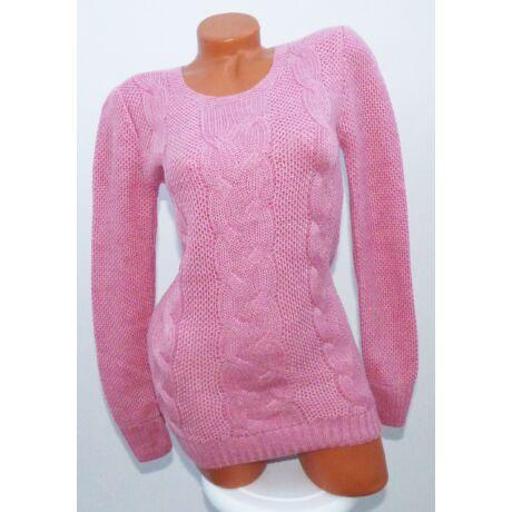 da5e64de79 Fonott mintás kötött pulóver - Póló / Pulóver - Luna Gardrobe Női ...
