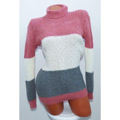 Garbós kötött pulóver - Póló   Pulóver - Luna Gardrobe Női ruha ... 7dd2d13b5f
