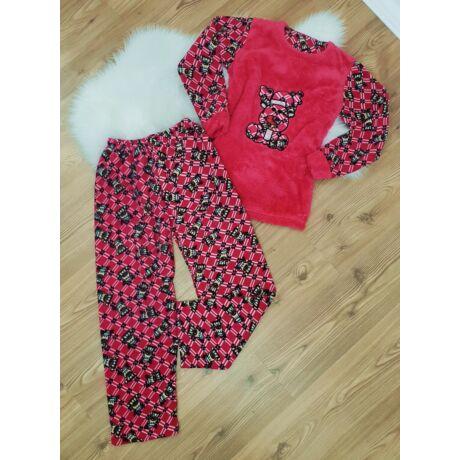 Pihe-puha rénszarvas mintás pizsama - Kiegészítők - Luna Gardrobe ... 93920b5cbe