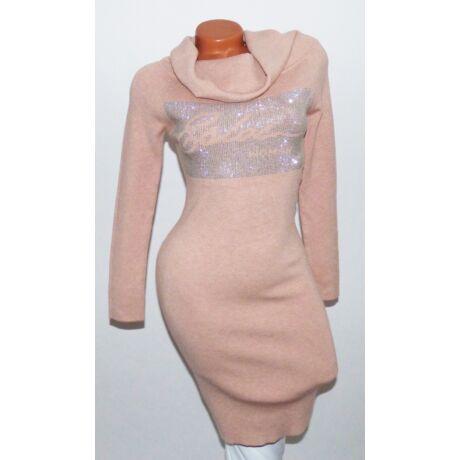 7747f32664 Strasszos, pihe-puha kötött ruha - Ruha - Luna Gardrobe Női ruha ...