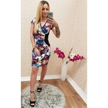 381ea6986e Virágmintás átlapolós ruha - Ruha - Luna Gardrobe Női ruha WebÁruház ...