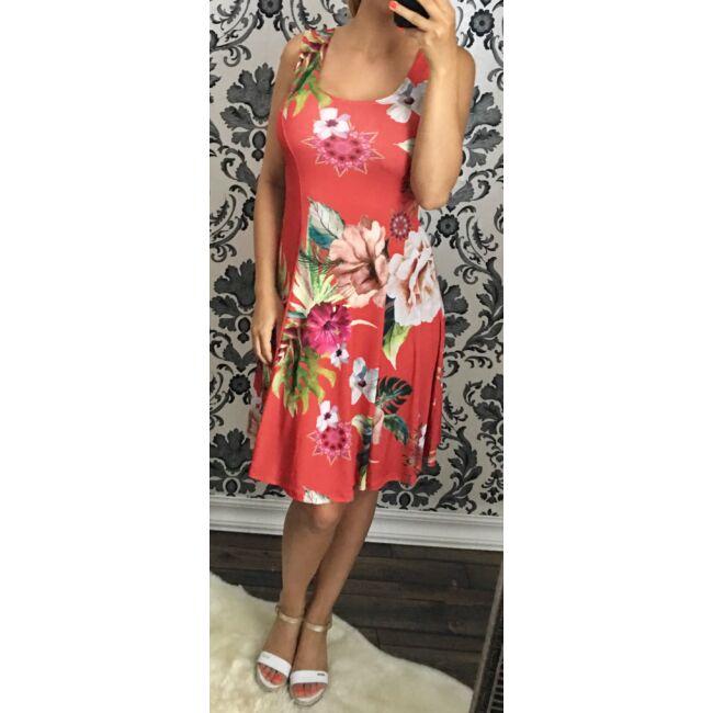 Harang alakú, virágos ruha