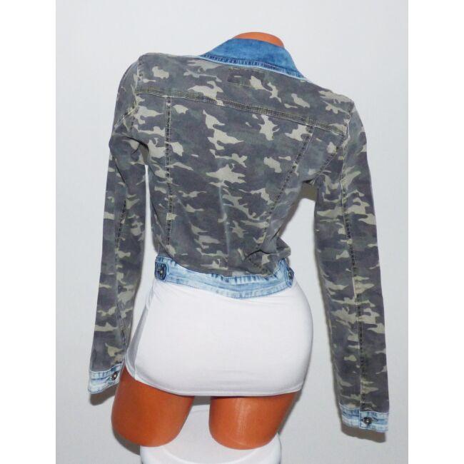 terepmintás női farmer dzseki webshop ár: 4.990 Ft