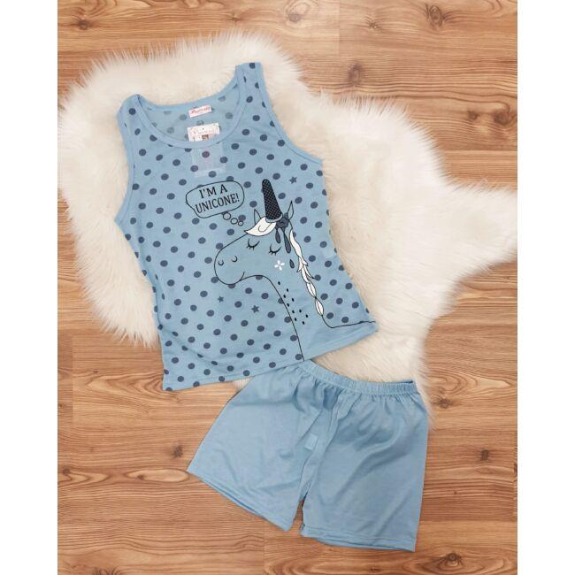 Kétrészes unikornis pizsama