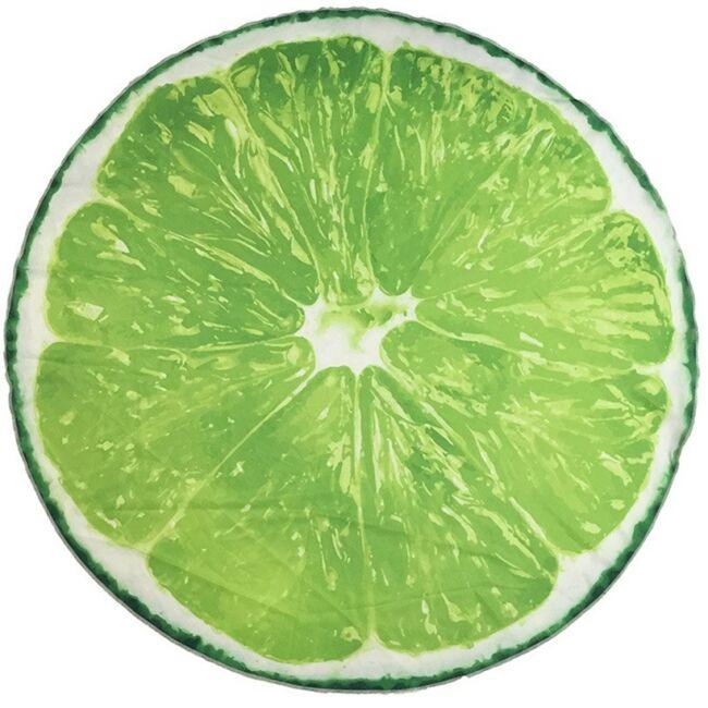 Lime strandtörölköző