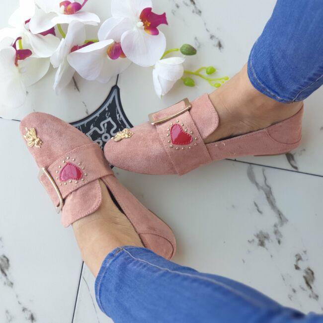 Púder belebújós cipő