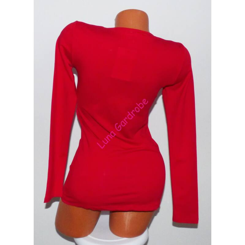 Cuki rénszarvas mintás, feliratos karácsonyi pulóver