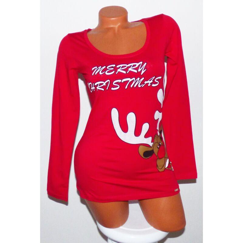 Merry Christmas feliratos karácsonyi pulóver