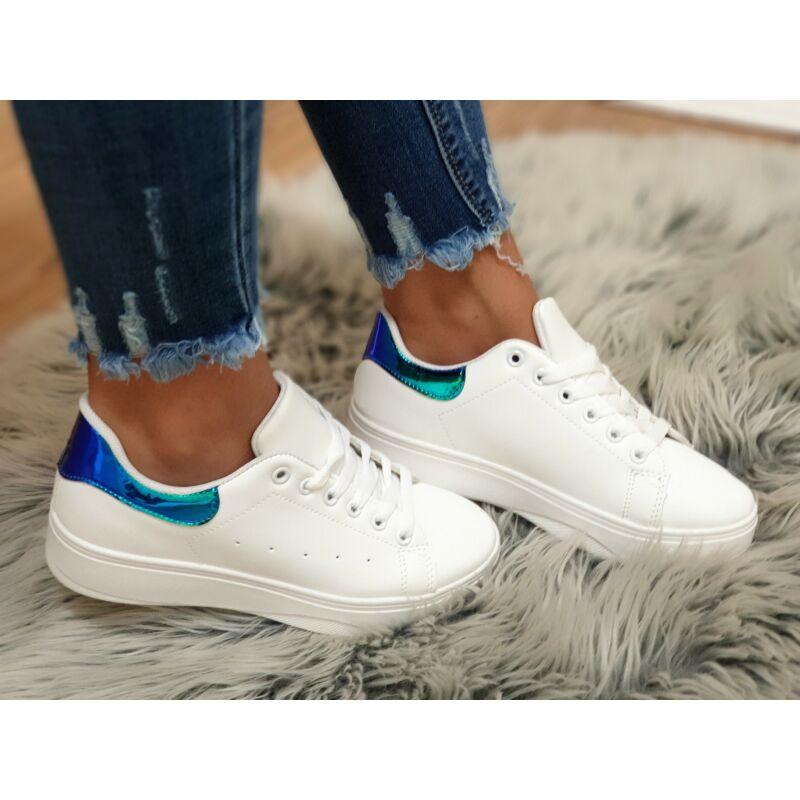 Vagány magasított talpú cipő