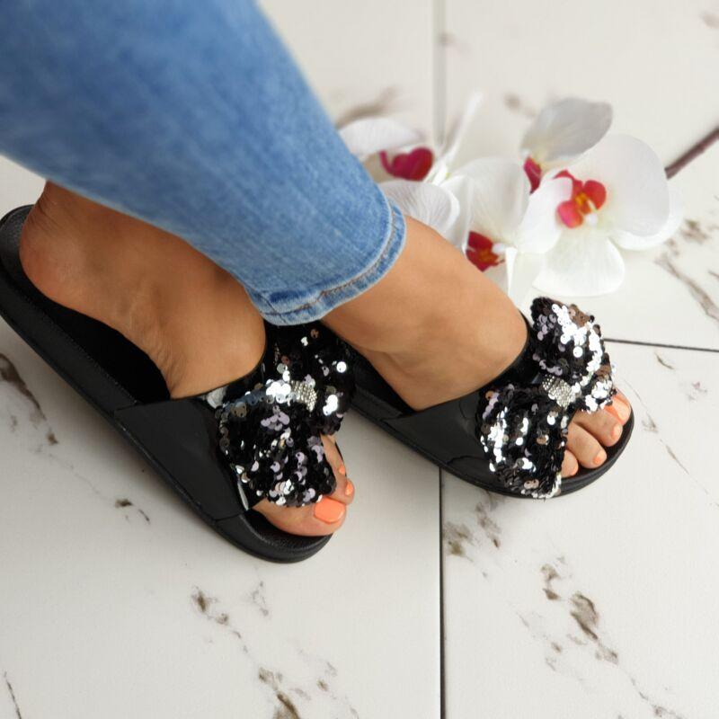 Flitteres masnis papucs