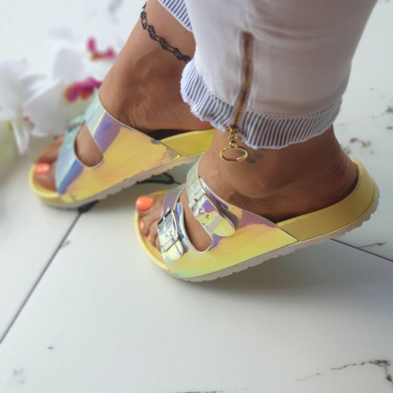 Dupla csatos papucs