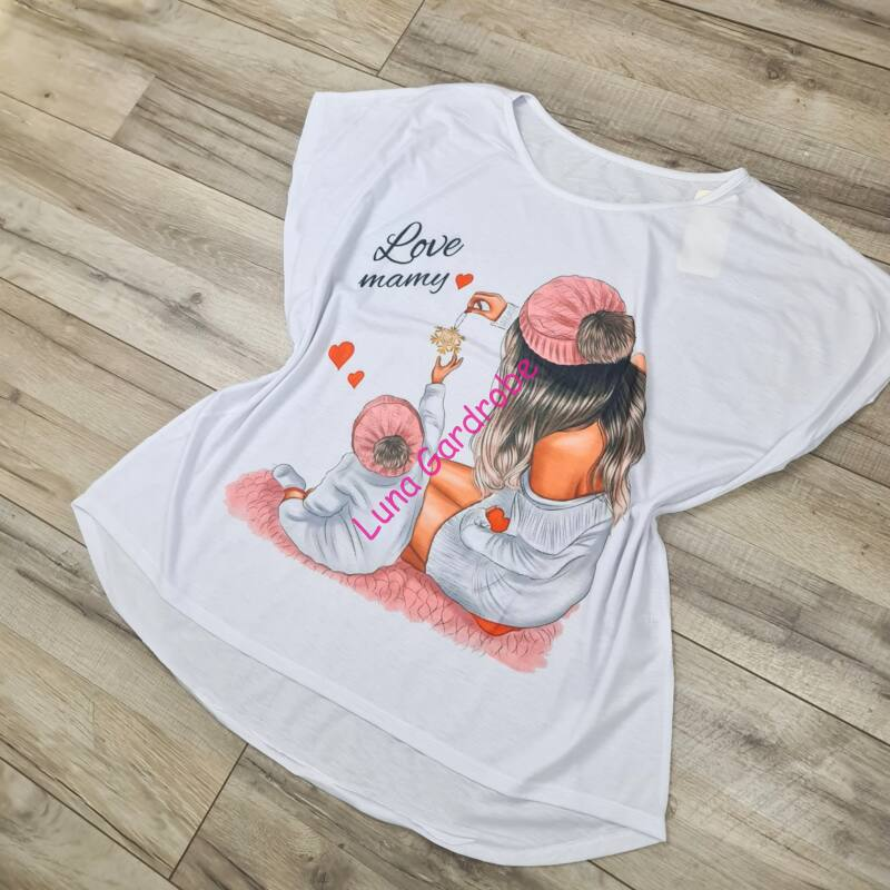 Anya-baba pamut póló
