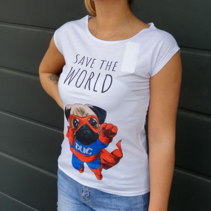 Kutyás pamut póló