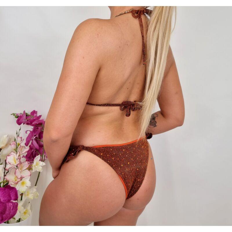 Fodros csillogós bikini