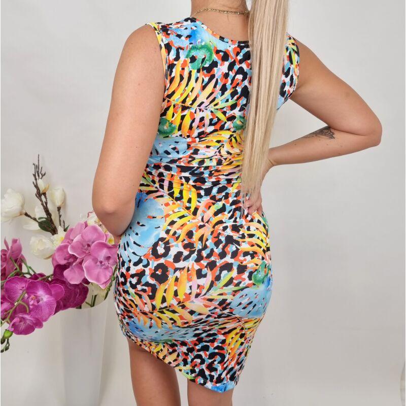 Átlapolós színes ruha