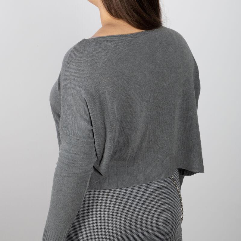 Aszimmetrikus finomkötött pulóver