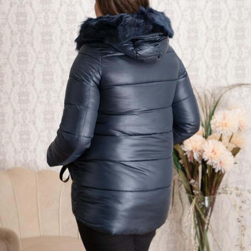 Szőrmés kapucnis ORIGINAL feliratos kabát