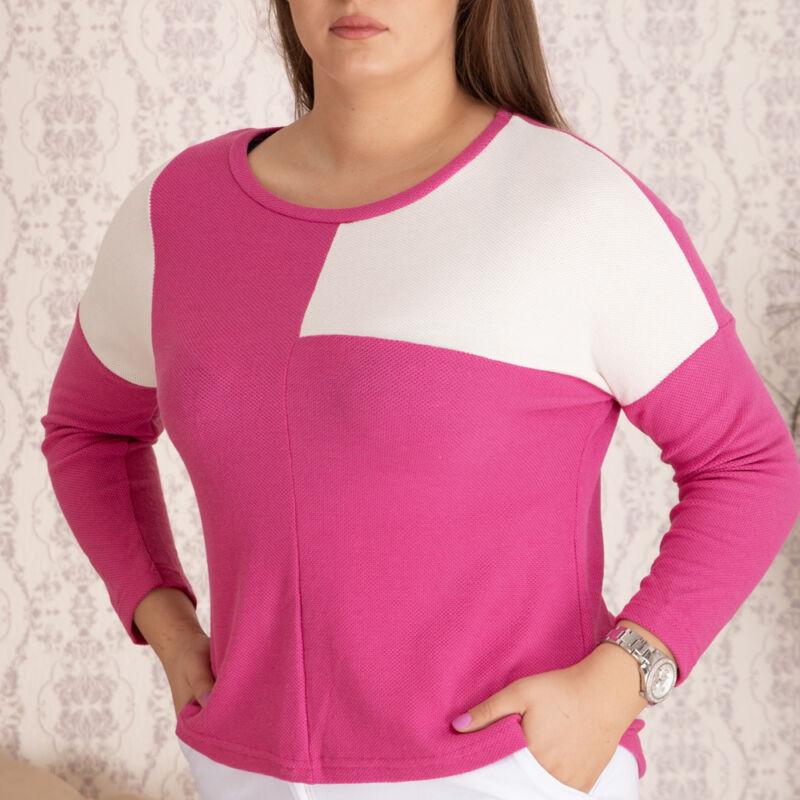 Aszimmetrikus pulóver