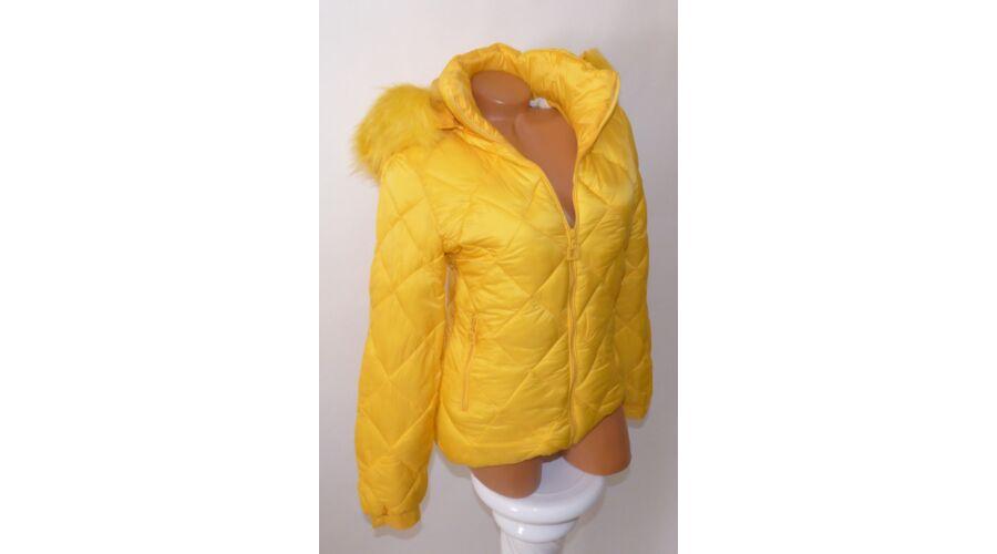 Sárga színű bélelt 96ca69247a
