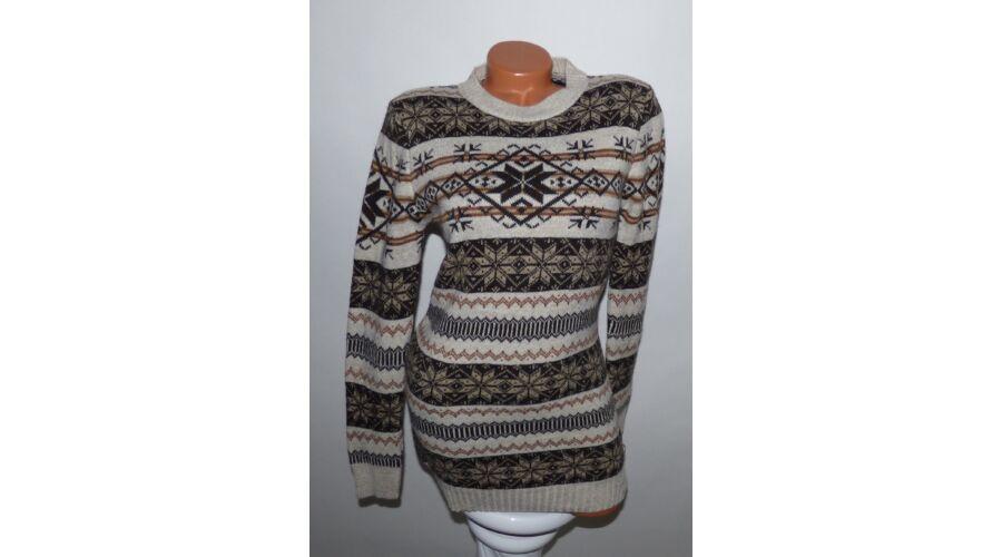 0b3ff3ce1c Hosszított norvég mintás pulóver - Póló / Pulóver - Luna Gardrobe ...