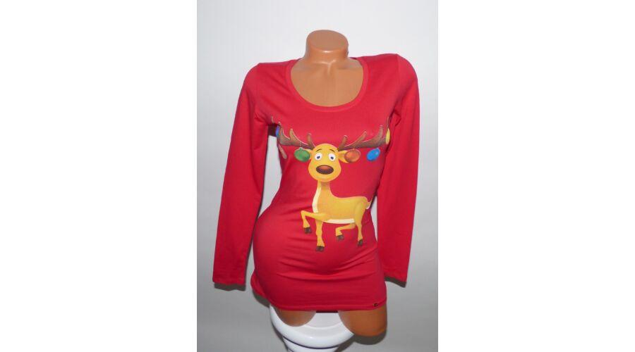 c70241db72 Cuki karácsonyi pulcsi - Póló / Pulóver - Luna Gardrobe Női ruha ...