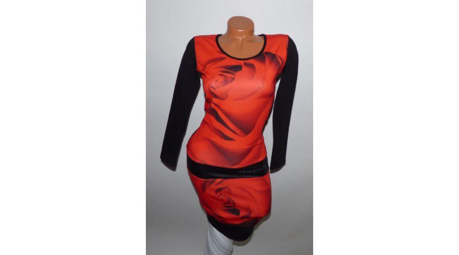973a4af449 Rucy Fashion rózsás ruha - Ruha - Luna Gardrobe Női ruha WebÁruház ...